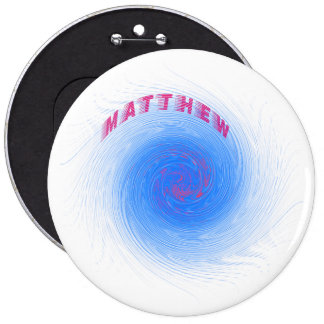 Hurricane Matthew 6 Cm Round Badge