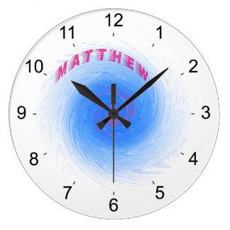 Hurricane Matthew Large Clock