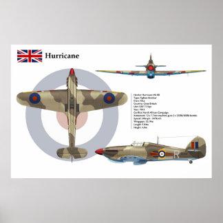 Hurricane Mk IIB  73 Squadron Poster