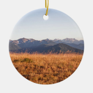 Hurricane Ridge Olympic National Park Gift Ceramic Ornament