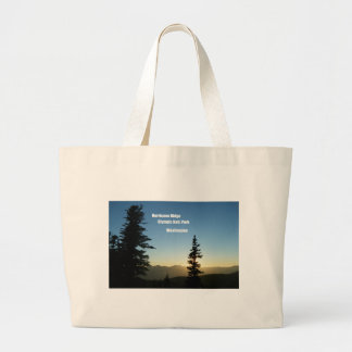 Hurricane Ridge, Olympic National Park, WA Large Tote Bag
