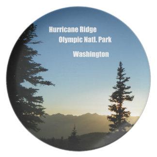 Hurricane Ridge, Olympic National Park, WA Plate