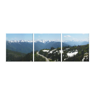 Hurricane Ridge Panorama (Multi-Panel) Canvas Print