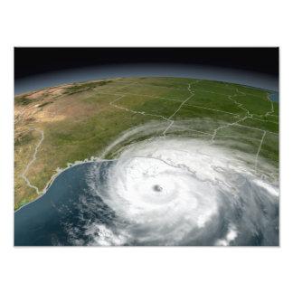 Hurricane Rita 2 Photo Art
