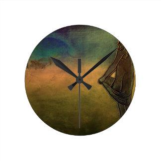 Hurricane Round Clock