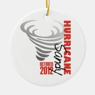Hurricane Sandy 2012 Ceramic Ornament