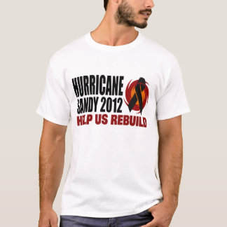 Hurricane Sandy 2012 Relief T-Shirt