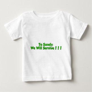 Hurricane Sandy Items Baby T-Shirt