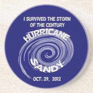 Hurricane Sandy Round Coaster
