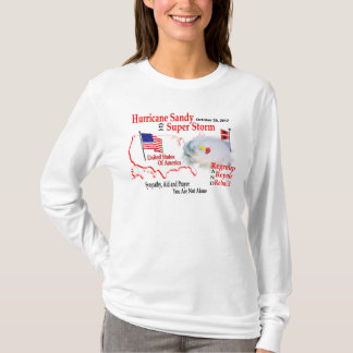 Hurricane Sandy Super Storm Regroup Repair Rebuild T-Shirt