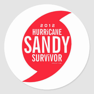 Hurricane Sandy Survivor Sticker 5