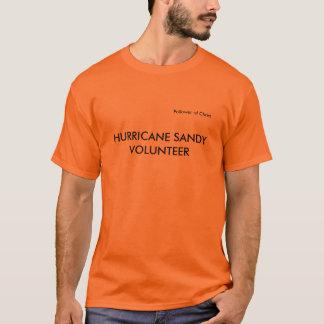 Hurricane Sandy t-shir, relief volunteer,volunteer T-Shirt
