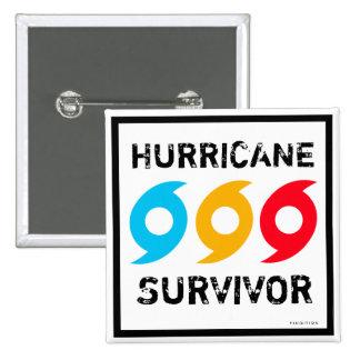 Hurricane Survivor Eyes Button
