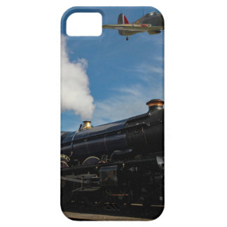 Hurricanes and steam train case for the iPhone 5