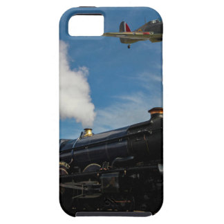 Hurricanes and steam train tough iPhone 5 case