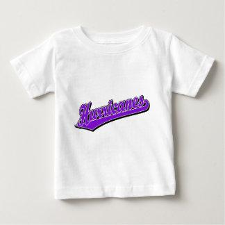 Hurricanes in Purple Baby T-Shirt