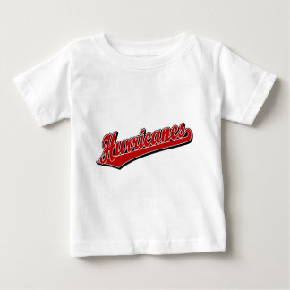Hurricanes in Red Baby T-Shirt