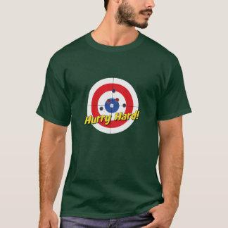 """Hurry Hard"" T-Shirt (Red)"