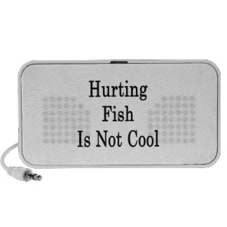 Hurting Fish Is Not Cool Notebook Speakers