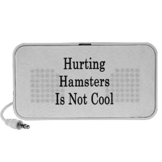 Hurting Hamsters Is Not Cool Mini Speakers