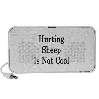 Hurting Sheep Is Not Cool Portable Speaker