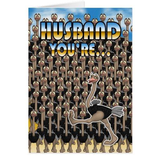 Husband Birthday Card - One In A Million