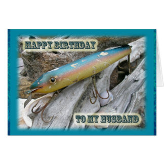 Husband Birthday Point Jude Cape Codder Lure Card