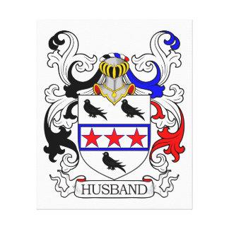 Husband Coat of Arms I Canvas Prints