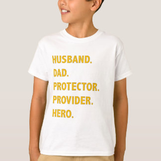 Husband, Dad T-Shirt