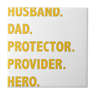 Husband, Dad Tile