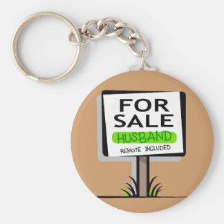 Husband for Sale Key Chains