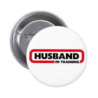 Husband in Training - Fun Valentine's Day Gift 6 Cm Round Badge