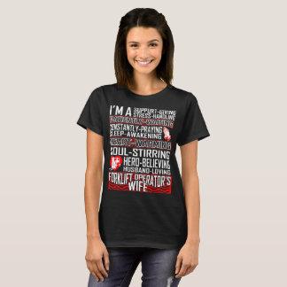 Husband Loving Forklift Operator Wife Tshirt