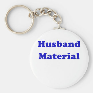 Husband Material Key Chains