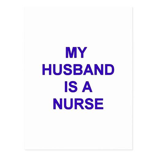 Husband Nurse Post Cards
