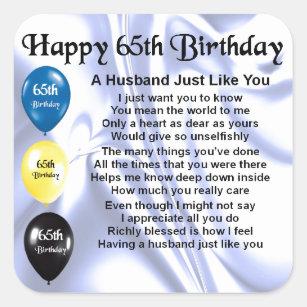 Husband 65th Birthday Gifts On Zazzle AU