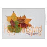 Husband thanksgiving foliage card