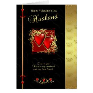 Husband Valentine's Day Card - Happy Valentine's D