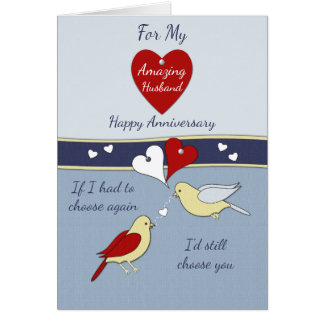 Husband Wedding Anniversary Card