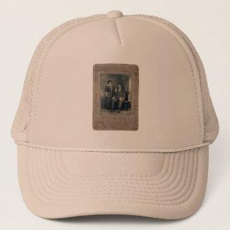 husband&wife trucker hat
