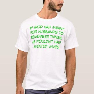 Husbands and Memory T-Shirt