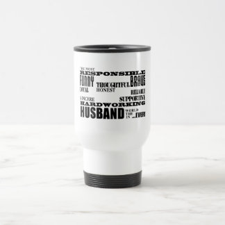 Husbands Wedding Anniversaries Birthdays Qualities Travel Mug