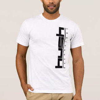 Hush Logo Vertical T-Shirt