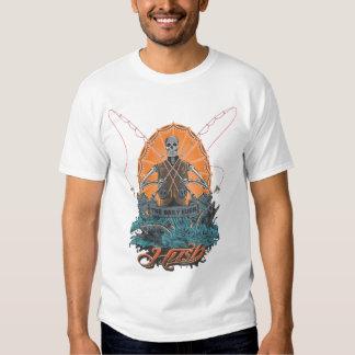 hush skull fly fish tshirts