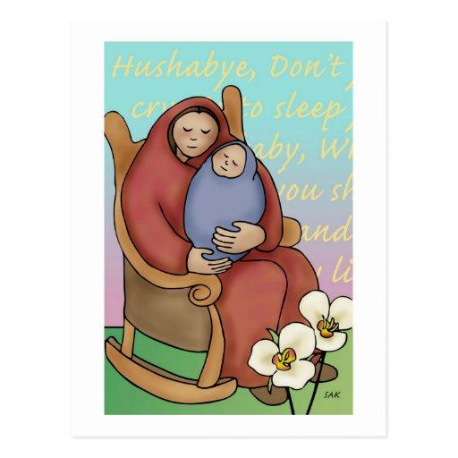 Hushabye Mama Postcards