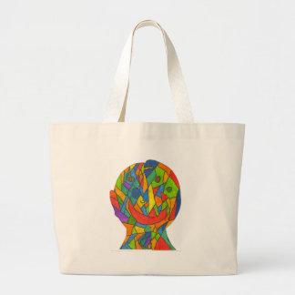 Huske-Stephen M Large Tote Bag