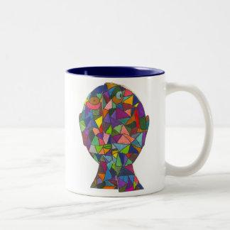 Huske-William M Two-Tone Coffee Mug