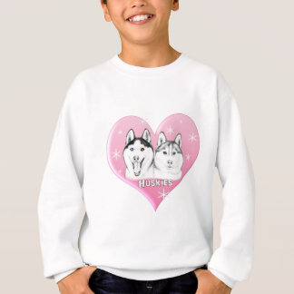 Huskies Pink Sweatshirt