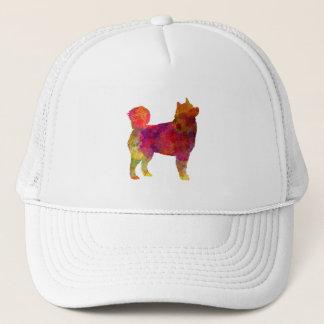 Husky Alaskan in watercolor Trucker Hat