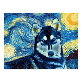 Husky Astral Postcard